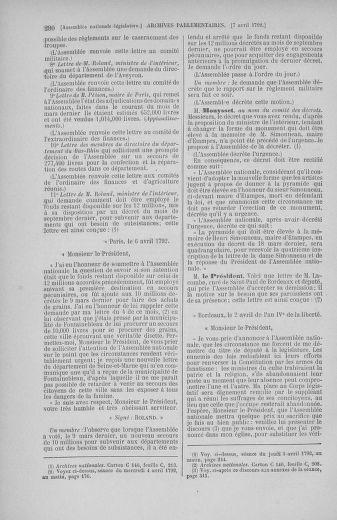 Tome 41 : Du 30 mars au 16 avril 1792 - page 290