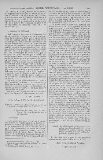 Tome 41 : Du 30 mars au 16 avril 1792 - page 355