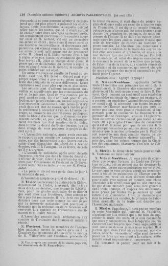 Tome 41 : Du 30 mars au 16 avril 1792 - page 412