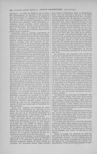 Tome 41 : Du 30 mars au 16 avril 1792 - page 420