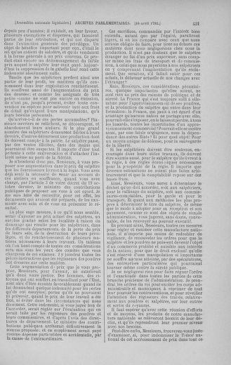 Tome 41 : Du 30 mars au 16 avril 1792 - page 431