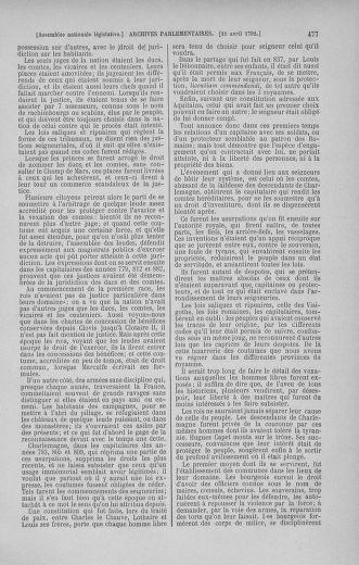 Tome 41 : Du 30 mars au 16 avril 1792 - page 477