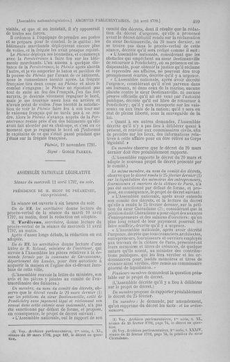 Tome 41 : Du 30 mars au 16 avril 1792 - page 499