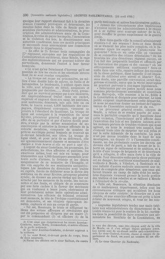 Tome 41 : Du 30 mars au 16 avril 1792 - page 506