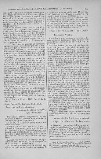 Tome 41 : Du 30 mars au 16 avril 1792 - page 509