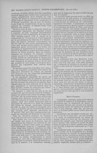 Tome 41 : Du 30 mars au 16 avril 1792 - page 516