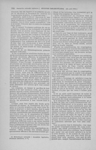 Tome 41 : Du 30 mars au 16 avril 1792 - page 518