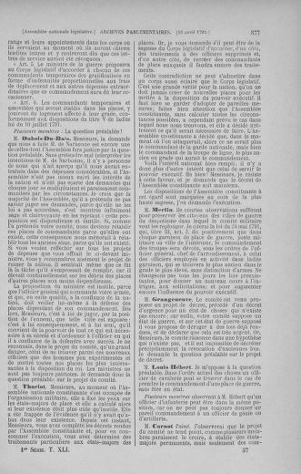Tome 41 : Du 30 mars au 16 avril 1792 - page 577