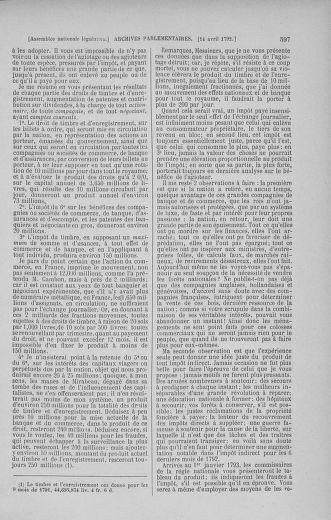 Tome 41 : Du 30 mars au 16 avril 1792 - page 597