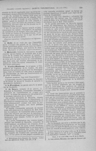 Tome 41 : Du 30 mars au 16 avril 1792 - page 599