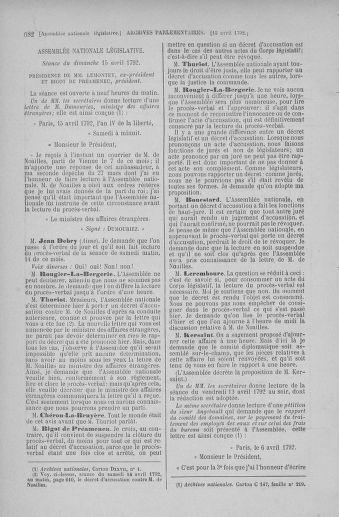 Tome 41 : Du 30 mars au 16 avril 1792 - page 682