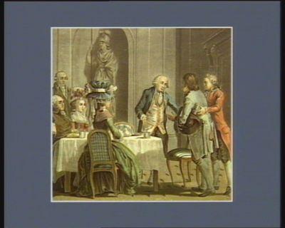 L' Agriculture considérée Noël de Jourda de Vaux, comte de Vaux, né en 1705, entra au service en 1724 dans le régiment d'Auvergne... : [estampe]