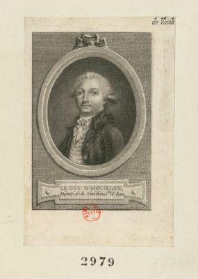 Le  Duc d'Aiguillon député de la sénéchaussée d'Agen : [estampe]