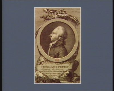 Girolamo Petion deputato di Chartres all'Assemblea nazionale nel 1789 fatto presidente il di 4 X.bre 1790 : [estampe]
