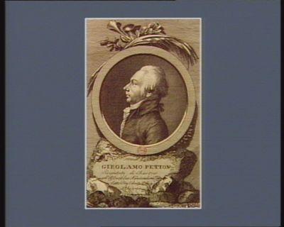 Girolamo Petion deputato di Chartres all'Assemblea nazionale nel 1789 fatto presidente il di 4 X.bre <em>1790</em> : [estampe]