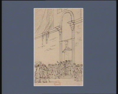 [Evénement du vingt juin 1789] [dessin]