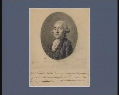 M. Tuault de la Bouvrie senéchal et premi[er] député de la senéchaussée de Ploermel en Bretagne né à Ploermel le 20 mars 1744 : [dessin]