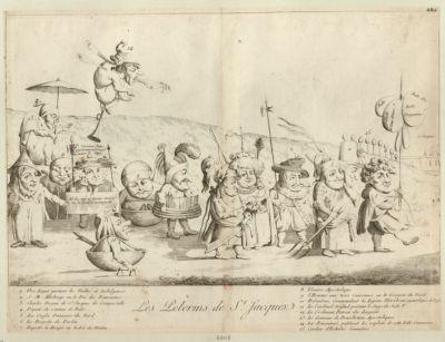 Les  Pélerins de St Jacques [estampe]