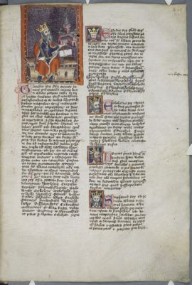 Cambridge, Corpus Christi College, MS 007: Chronicle and Register of Benefactors of the Monastery of St Albans