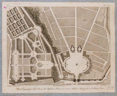 Piazza del Popolo, pianta della piazza