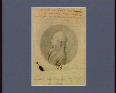 M. Thomas Louis César de Lambert-Frondeville président à mortier du Parlement de Normandie, député de la noblesse de cette province : [dessin]