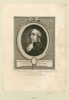 P.e G.e H.i Giraud Duplessix, avocat du Roi procur.r sindic et député de la ville de Nantes, né le 30 X.bre 1757 : [estampe]