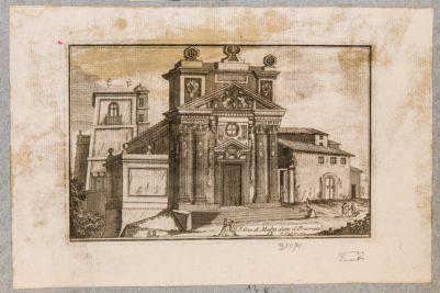 Chiesa di S. Maria del Priorato, prospetto