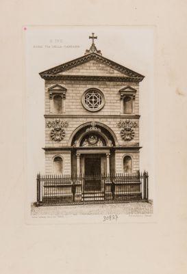 Chiesa di S. Ivo dei Brettoni, facciata