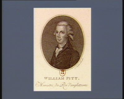 William Pitt ministre du Roi d'Angleterre : [estampe]