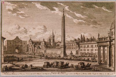 Piazza del Popolo, veduta verso nord-est