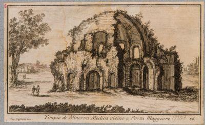 Tempio di Minerva Medica vicino a Porta Maggiore