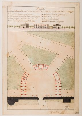 Porta S. Giovanni in Laterano, progetto di sistemazione