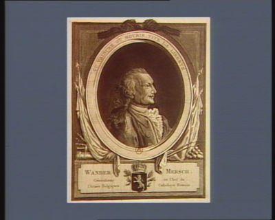 Wander Mersch generalisme en chef de l'armée belgiques catholique romain : ou vaincre ou mourir, vive la liberté : [estampe]
