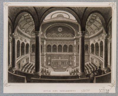 Palazzo di Montecitorio. Aule del Parlamento Nazionale