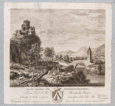 Ponte Salario, fantastica veduta generale