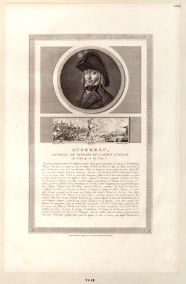 Augereau, général de division de l'armée d'Italie [estampe]