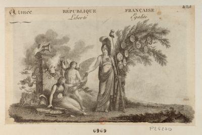 Armée d'Italie. République française, liberté égalité Alexandre Berthier, général de division, chef de l'état major g.al de l'armée d'Italie : [estampe]