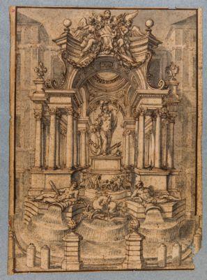 Fontana di Trevi, progetto decorativo
