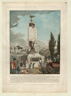 La  Constitution française [estampe]