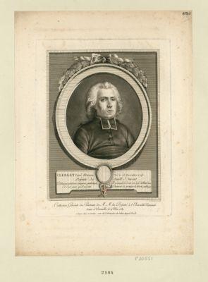 Clerget, curé d'Onans, né le 23 décembre 1746 député du baill. d'Amont : [estampe]