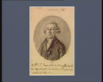 Mr Le Baron Felix de Wimpffen deputé du departement du Calvados a l'Assemblée nationale 1789 : [dessin]