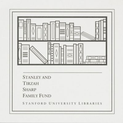 Stanley and Tirzah Sharp Family Fund