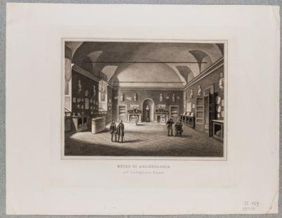 Palazzo della Sapienza. Dipendenze dalla Università, Museo di Archeologia