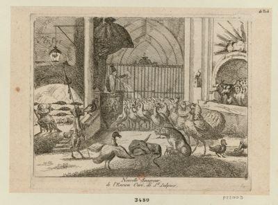 Nouvelle sinagogue, de l'encien curé, de St Sulpice [estampe]