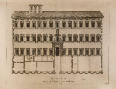 Palazzo Chigi, prospetto sul Corso