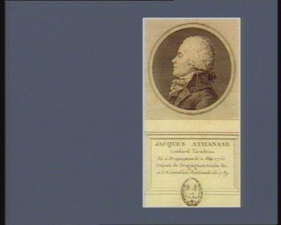Jacques Athanase Lombard Taradeau né à Draguignan le 2 may 1750 député de Draguignan, Grasse &<em>c</em> à l'Assemblée nationale de 1789 : [estampe]