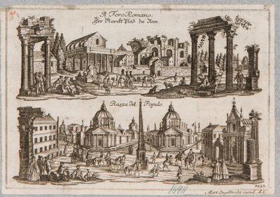Tempio di Antonino e Faustina, il Foro Romano