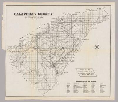Map of Calaveras County, California [cartographic material ... Calaveras County Map on jackson county map, placer county map, alpine county map, jefferson county map, sierra county map, kings county map, amador county map, mariposa county map, visalia county map, livermore county map, california map, redding county map, benton county map, contra costa county map, fresno county map, tulare county map, santa rosa county map, san andreas county map, lincoln county map, plumas county map,