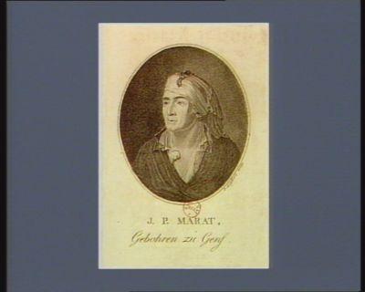 J.P. Marat geboren zu Genf : [estampe]