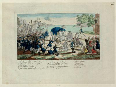 L' Elephant blanc fait historique, voyez Prudhomme no 96... : [estampe]
